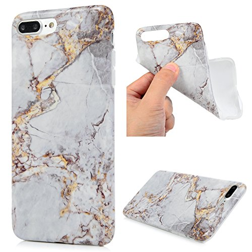Iphone 7 Plus Custodia Silicone Marmo Morbido Gel Gomma Yokirin Tpu