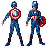#5: Fancydresswale Captain America Muscle Costume + Shield
