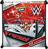 Reine - WWE Offiziell Superstar Wrestling Ring für alle Mattel Aktion Figuren