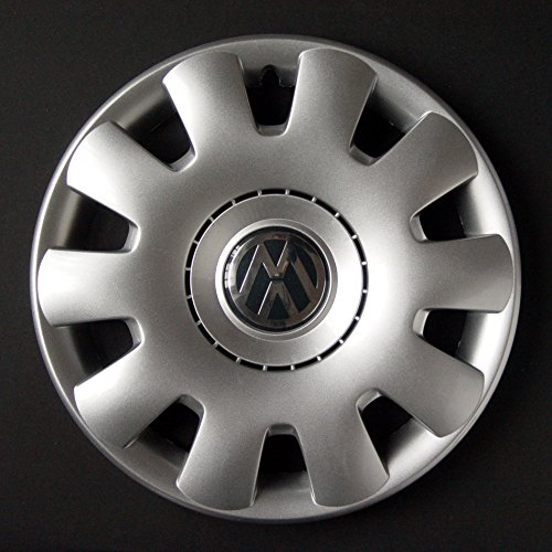 Wheeltrims Set von 4 New Radzierblenden für Volkswagen Golf 5/Golf 6/Polo 4/Fox/New Jetta/Touran/Tiguan/Passat 5/New Beetle/Caddy mit original Felgen in 38,1 cm