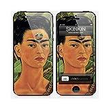 Skinkin Sticker iPhone 5 de chez Design original : Thinking about death par Frida Kahlo