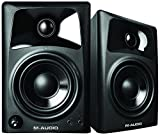 M-Audio AV32 | Compact Active Desktop Reference Monitor Speakers (Pair) for Premium Playback, Professional Media Creation and Immersive Gaming Sound