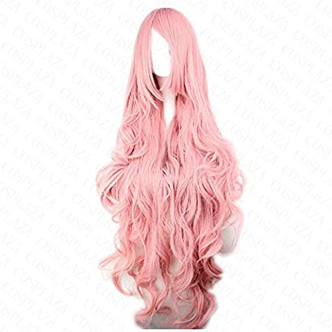 COSPLAZA Perruque Anime Cosplay Wig synthétique Cheveux VOCALOID Hatsune Miku Megurine Luka poudre