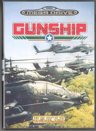 Gunship - Megadrive - PAL