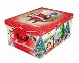 XXL Dekokarton mit tollem Weihnachtsmotiv