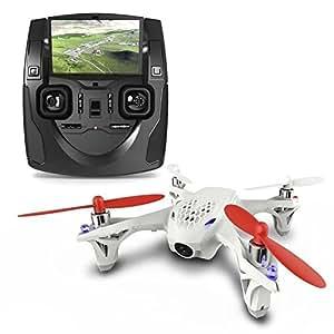 PANMARI 2,015 New Professional Drone Hubsan X4 H107D 5.8G Transmetteur FPV Quadcopter Drone avec caméra HD contrôleur LCD emballage d'origine