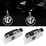 Car Door Welcome Lights-2Pcs High Definition logo LED proiettore ombra ShadowCortesia Benvenuto Ghost Light (CARLED-ROME5)