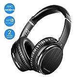 OneAudio Active Noise Cancelling Headphones Bluetooth Headphones Wireless Headphones Over Ear with Mic/Apt-X