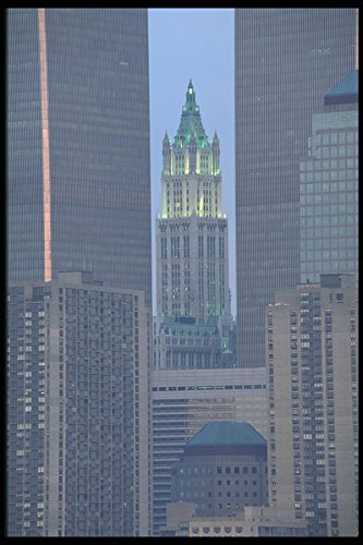 244088-world-trade-center-and-woolworth-building-a4-photo-poster-print-10x8