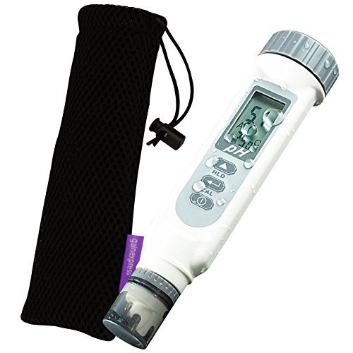 AZ Instruments Waterproof 0~14 pH Meter with Temperature Measurement by Gain Express