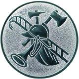Pokal Emblem Feuerwehr - 50 mm/bronze