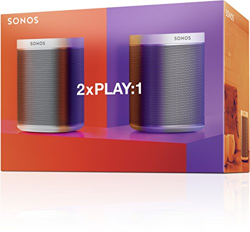 2 Room Starter Set I 2 Sonos PLAY:1 Smart Speaker (weiß) - 7