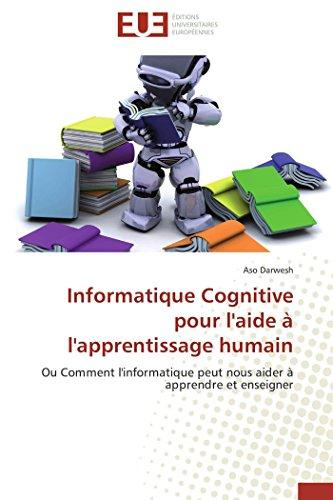 Informatique cognitive pour l'aide à l'apprentissage humain