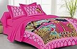 Lali Prints Pink scenery soft cotton 1 S...
