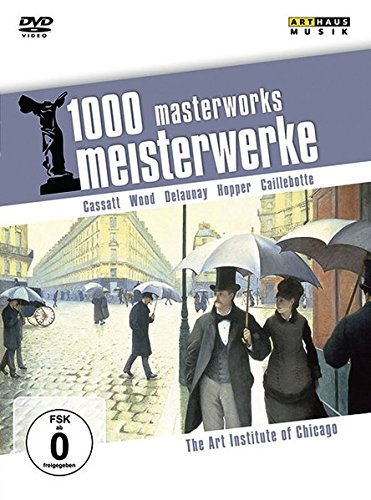 1000 Meisterwerke, The Art Institute of Chicago, 1 DVD