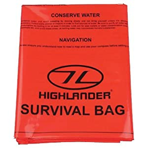 51%2B57HxsQfL. SS300  - Highlander Emergency Single Orange Survival Bag