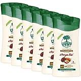 L'arbre vert Pack de 6  Bien-Etre Crème Douche Argan aux Extraits d'Argan Bio