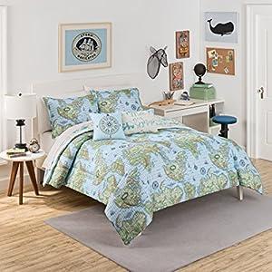 Waverly Kids Buon Viaggio Reversible ropa de cama Colección