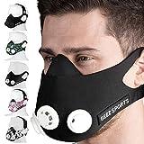 Geez Trainingsmaske Training Mask Atemmaske Trainings Maske Sportmaske Ausdauermaske Fitnessmaske Trainingsmask.