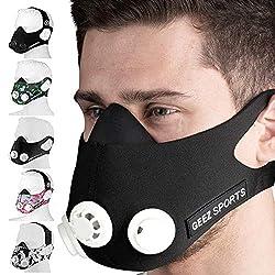 Geez Training Mask Training Mask Respiratory Mask Training Mask Sports Mask Endurance Mask Fitness Mask Training Mask.