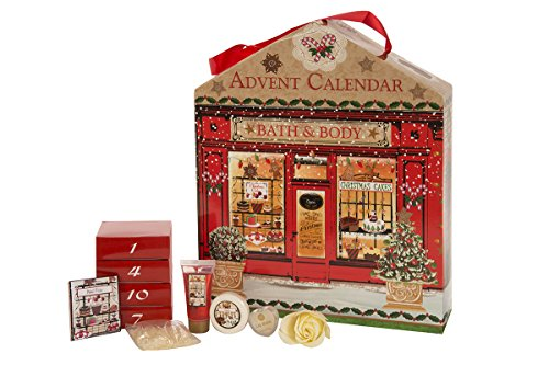 Accentra Adventskalender Bath and Body - Cake Shop - Wellness and Beauty, 1er Pack (1 x 1 Stück)