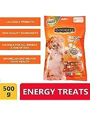 Wowdog Goodies Dog Treat Bone Shaped Multi Flavor Chlorophy