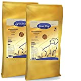 Lyra 12,5 kg Pet Dog Adult Light + 12,5 kg Dog Senior Premium Hundefutter