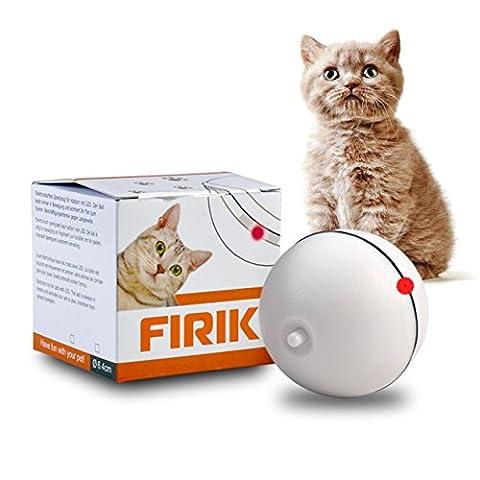 Katzenspielzeug Katze Spielzeug Automatische Elektrische Rotierende drehtbare Ball Licht Interactive Spielzeug für Katze / Kitten und Welpen