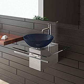 Alpenberger Sink/Bathroom Glass Furniture/Alps Berger Sink Series 120/Tables Exclusive for Your Bath/Bathroom/Glass Bowl/Glass Wash Hard