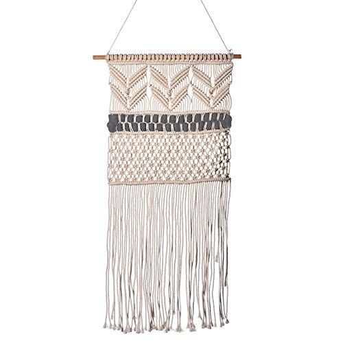 andbehang aus Baumwolle, Handgemachte Dekoration Böhmische Wanddeko, für Küche Zimmer Wand Dekor, 50 * 95cm ()
