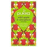 Pukka Teas Pukka Wild Apple E Cannella Con Bustine Di Tè Allo Zenzero 20 Per Confezione (Confezione da 2)