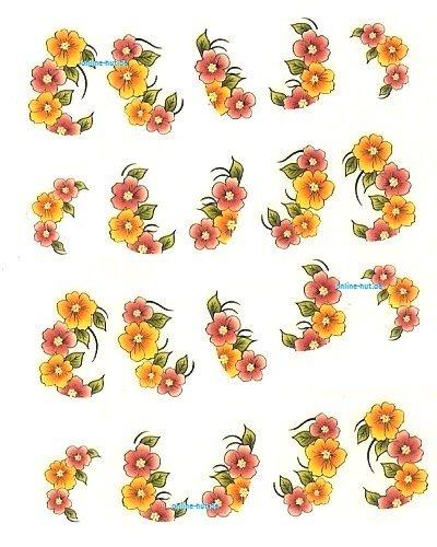 One stroke-sticker fiori 1059