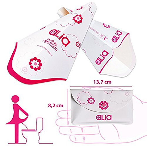 ALIA•CONE, 18 Einweg-Frauenurinale zum Pinkeln im Stehen, verpackt in 3 bequem in der Handtasche verstaubaren Pochettes