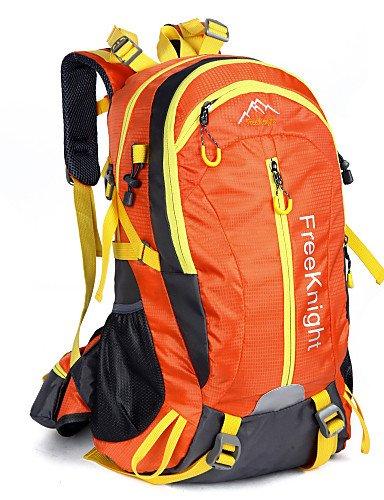 HWB/ 40 L Tourenrucksäcke/Rucksack / Travel Organizer Camping & Wandern Draußen Wasserdicht / Schnell abtrocknend / tragbar / Atmungsaktiv Red