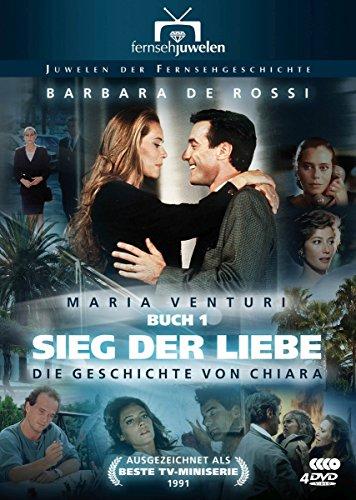 Bild von Sieg der Liebe: Die Geschichte von Chiara - (Maria Venturi, Buch 1) Fernsehjuwelen [4 DVDs]
