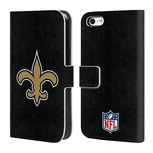 Ufficiale NFL Calcio New Orleans Saints Logo Cover A Portafoglio In Pelle Per Apple IPhone 5c