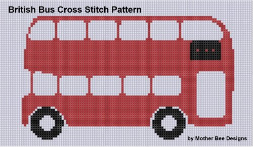 British Bus Cross Stitch Pattern (English Edition) PDF Books