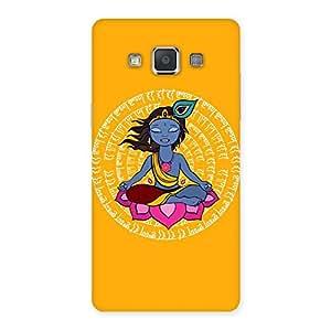 Yog Krishna Back Case Cover for Galaxy Grand 3