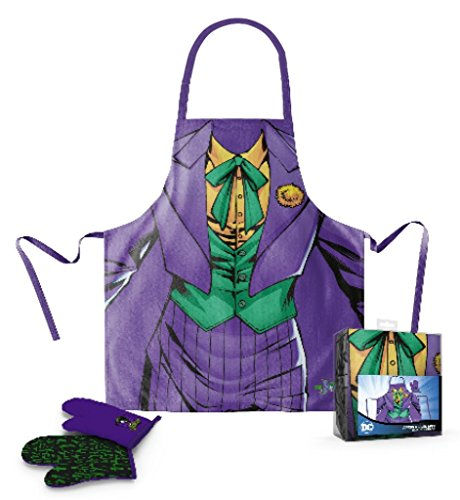 SD toys Joker Delantal Manopla Pack Transparente
