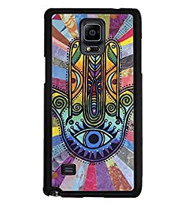 Aart Designer Luxurious Back Covers for Samsung Galaxy Note 4 + Lazy 360 Foldable Mobile Stand for Mobiles by Aart Store.
