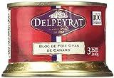 Delpeyrat Classic Bloc de foie gras de Canard - 120 g