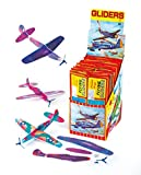Baker Ross Lot de 6 Planeurs colorés à assembler - Idéal pour les amateurs d'Aéronautique