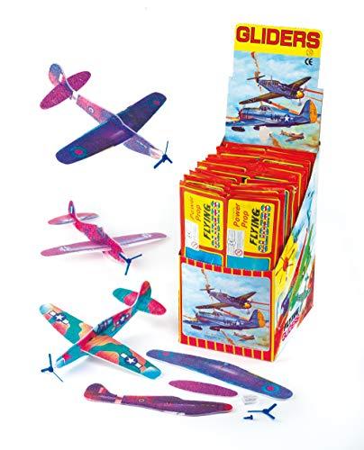"""Baker Ross Gleitflugzeuge \""""Propeller\"""" - zum Spielen für Kinder - als Preis und Mitgebsel für den Kindergeburtstag (6 Stück)"""