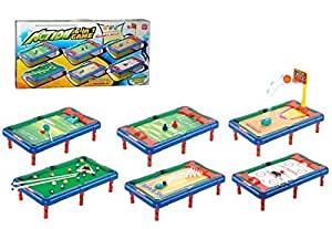 Smiles Creation 6 in 1 Action Sports Activity Center Toy For Kids