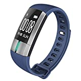 Smart Band G20 / Sport - Fitness Armband mit Pulsmesser / Activity watch Tracker Wasserdicht IP67 - blau