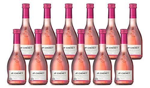 JP Chenet Grenache Cinsault Pays D'Oc IGP Vin Rosé 0,25 L - Lot de 12