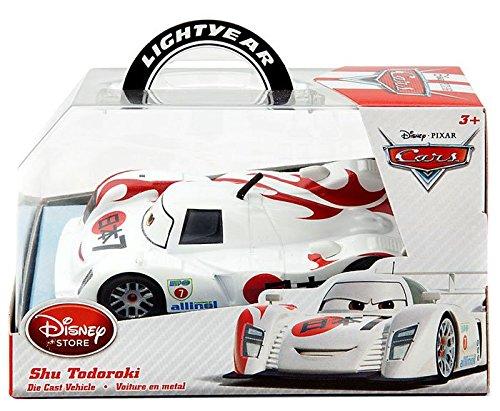 Disney Pixar Cars Diecast Shu Todoroki Vehicle Fahrzeug 1:43 (Disney Pixar Cars Diecast Lizzie)