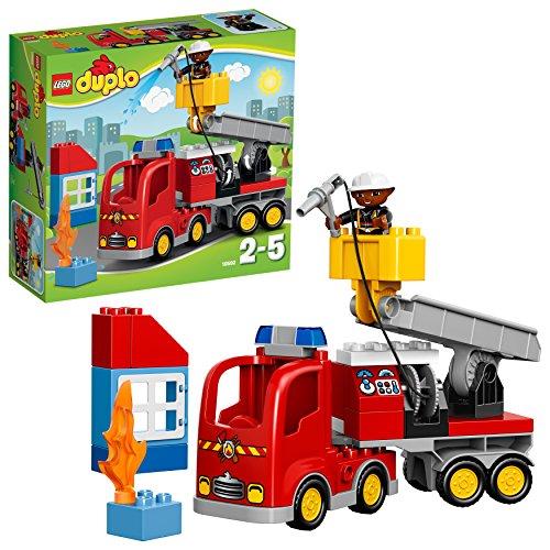 feuerwehrauto LEGO Duplo 10592 - Löschfahrzeug, Spielzeug für drei Jährige Kinder