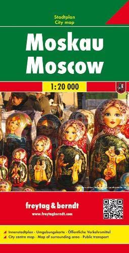 Moskau, Stadtplan 1:20.000: Stadskaart 1:20 000 - Moskau Stadtplan