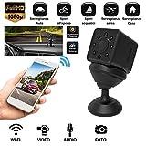 Mini Telecamera Nascosta Spy Cam Camera infrarossi Spia WIFI Full HD Micro SD + Omaggio custodia Waterproof Subacquea